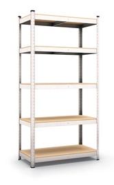 Sandėliavimo lentyna, 180 x 90 x 50 cm, 5 lentynos