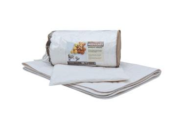 Vaikiškos patalynės komplektas Comco, su antklode ir pagalve, medvilninis