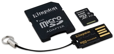 "ATMINTIES KORTELĖ ""MICROSD 64GB KIT CL10 KINGSTON"""