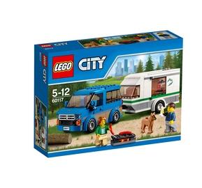 Konstruktorius LEGO City, Autobusiukas ir namelis ant ratų 60117