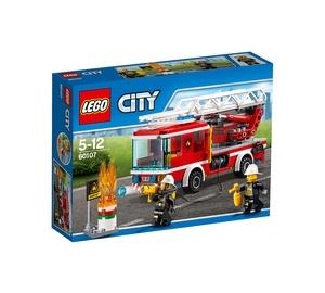 Konstruktorius LEGO City, Ugniagesių automobilis su kopėčiomis 60107