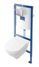 WC-pott Villeroy & Boch O.Novo, raami ja õrna sulgemisega