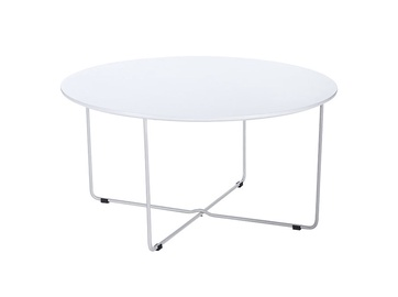 Baltas kavos staliukas 9629,80 x 80 x 40 cm
