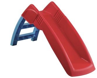 Plastikinė čiuožykla, raudona, 139 x 43 x 72