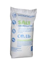 Granuliuotoji druska Mozyrsalt vandeniui minkštinti, 25 kg