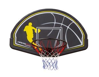 Plastikinė krepšinio lenta SBA006 su lanku ir tinkleliu