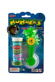Žaislinis muilo burbulų šautuvas