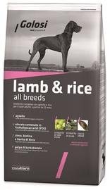 Sausas ėdalas šunims Golosi su ėriena ir ryžiais 3 kg