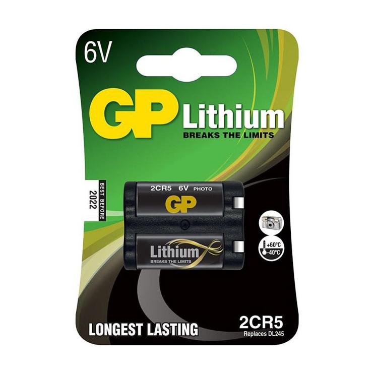 Baterija GP Photo 2CR5 6V