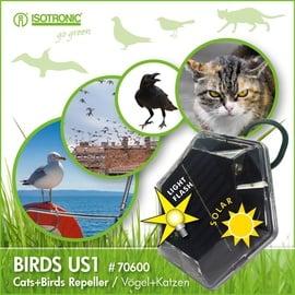 """Universalus prietaisas paukščiams atbaidyti su saulės baterija """"Isotronic"""" 70600"""