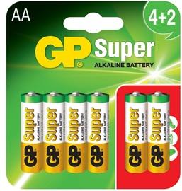 Elementas GP Alkaline 4+2, LR6