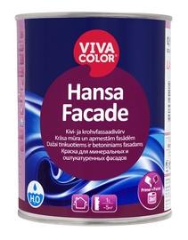 Tinkuotų ir mūrinių fasadų dažai Vivacolor Hansa Facade LA 0,9 l