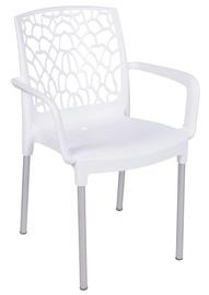 Lauko kėdė Aracna, balta