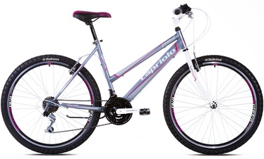 VELOSIPĒDS PASSION L 26 GREY - PINK (CAPRIOLO)