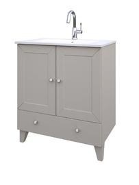 Izlietne ar skapīti vannas istabai Raguvos Baldai Siesta 76x46,5x85cm