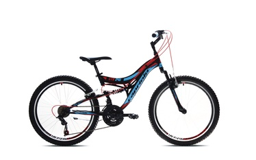 VELOSIPĒDS CTX 240 24 BLACK – RED – Y (CAPRIOLO)