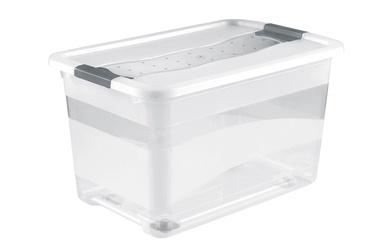 Sandėliavimo dėžė OKT, 52 l, su ratukais, 60x40x34cm
