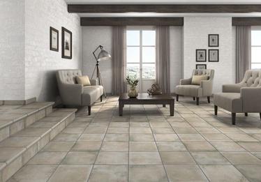 Klinkerinės grindų plytelės Antic Ceniza