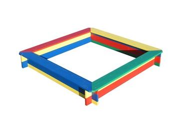 Smėlio dėžė, spalvota