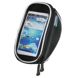 Dviračio vairo krepšys su telefono dėklu fsbfb-166