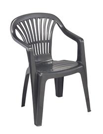 Plastikinė lauko kėdė Scilla 132, antracitas
