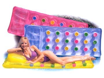 Pripučiamasis plaukiojimo čiužinys Intex Pocket, 188 x 71 cm