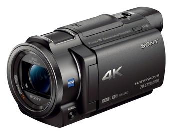 """Vaizdo kamera """"Sony"""" FDR-AX33 4K, juoda"""