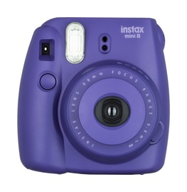 Fotoaparatas Fujifilm Instax Mini8 Grape + fotojuosta