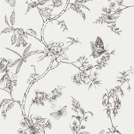 Vinüültapeet 33-008, lilled
