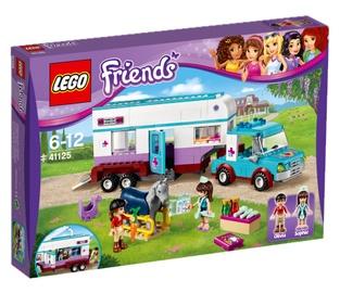 Konstruktorius LEGO Friends, Žirgų veterinaro priekaba 41125