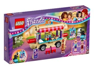 Konstruktorius LEGO Friends, Pramogų parko dešrainių vagonėlis 41129