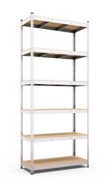 Sandėliavimo lentyna, 218,6 x 90 x 50 cm, 6 lentynos