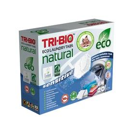 """TRI-BIO Ekologiškos drabužių skalbimo tabletės """"baby"""" 20 tab"""