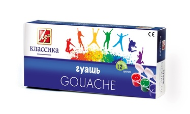 Guašas Klasika, 12 spalvų