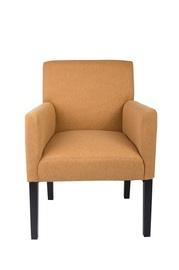 Šviesiai rudas fotelis B27 HL91-5 su porankiais
