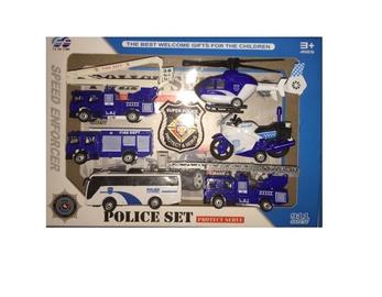 Žaislinis rinkinys policija 868-11
