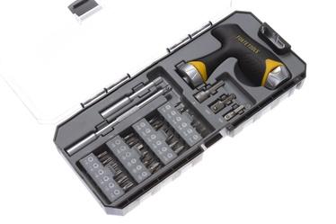 Otsikute komplekt Forte Tools, 30 -ne osaline