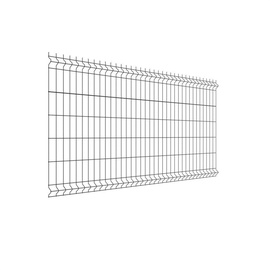 Tvoros segmentas EU, 2500 x 1230 x 4 mm, pilkas