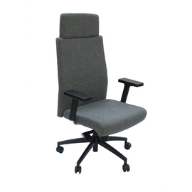 Kėdė su multiblokiniu mechanizmu GP-102H, pilka