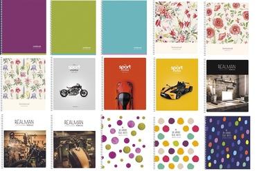 Vihik, B5, 80 lehte, erinevad värvid