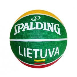 Krepšinio kamuolys Spalding Lietuva 83428Z, dydis 7
