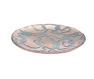 Dekoratyvinė lėkštė Knot Blue, 28 cm