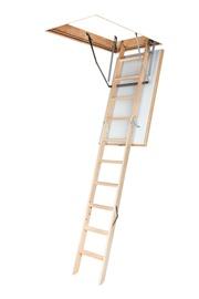 Sudedamieji laiptai Ole-B Thermo, 60 x 120/280 cm