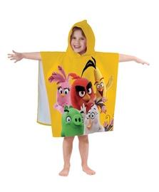 """Vaikiškas rankšluostis su kapišonu """"Angry birds"""" 043533"""