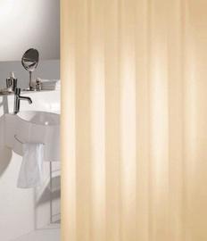 Dušas aizkars Sealskin Madeira 180x200cm, jasmīna krāsa