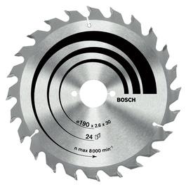 Saeketas Bosch Optiline Wood 190x30mm 24WZ