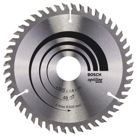 Ripzāģa disks Bosch Optiline 165x30mm