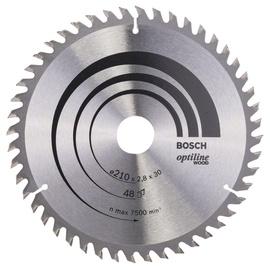 Saeketas Bosch Optiline Wood 210x30mm 48WZ