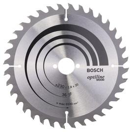 Saeketas Bosch Optiline Wood 230x30mm 36WZ