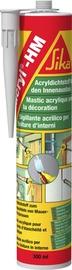 Akrila mastika blīvēšanai Sika Acryl-HM, 300ml, balta